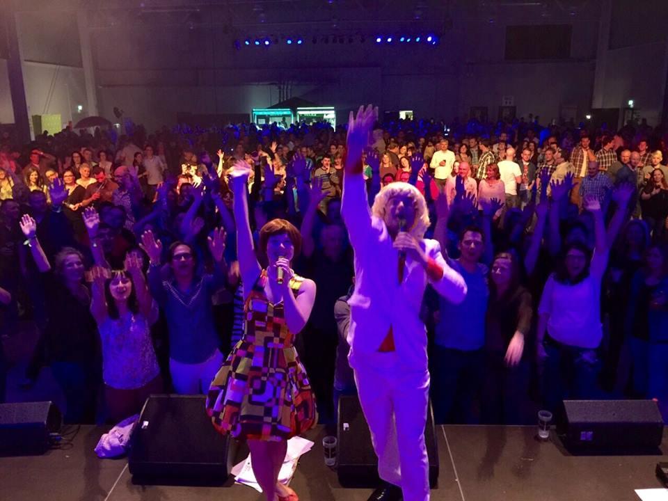 Familie Hossa begeistert ein großes Publikum